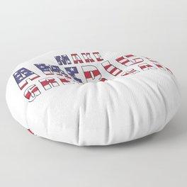 Make America Great Again Floor Pillow