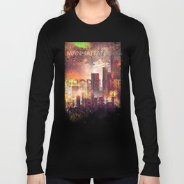 Good night Manhattan Long Sleeve T-shirt