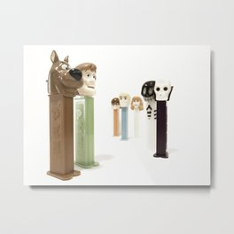 PEZ Collection 2 Metal Print