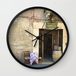 La Dolce Vita (Pt. 1) Wall Clock