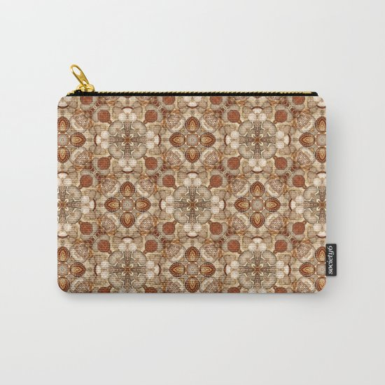 Seashells pattern Carry-All Pouch