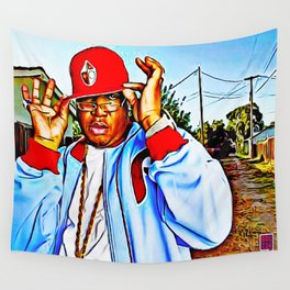 """SYNONYMOUS W/ BAY AREA RAP"" Wall Tapestry"