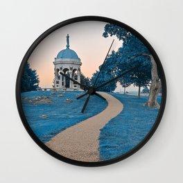 Antietam Sapphire Twilight Wall Clock