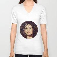 passion V-neck T-shirts featuring Passion by Balazs Pakozdi
