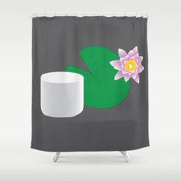 HIMYM Couples - Lily & Marshall Shower Curtain