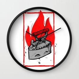 MOTO KAMA PASI Wall Clock