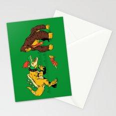 Boss vs Kong Stationery Cards