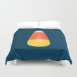 Candy Corn! Duvet Cover