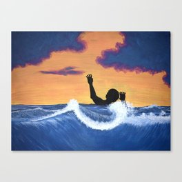 Pressured Canvas Print