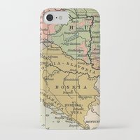vintage map iPhone & iPod Cases featuring Vintage Map by littlehomesteadco