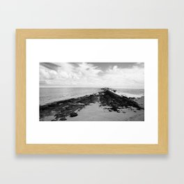 The Path Unfolds Framed Art Print