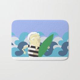 Old Surfer Bath Mat
