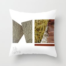 No Carbs and Cholestrols   Throw Pillow
