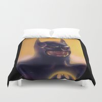 bats Duvet Covers featuring Bats by Jason Wright