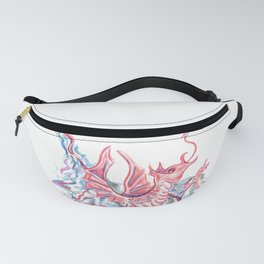 Red Dragon Fanny Pack