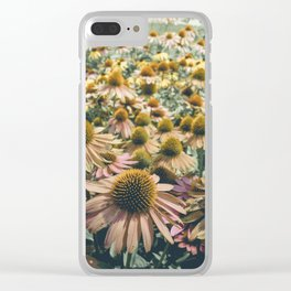 Summer in Full Bloom Clear iPhone Case