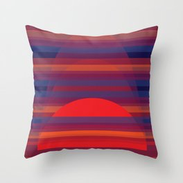 Sea Scapes - Tropical Throw Pillow
