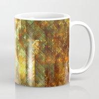 crystals Mugs featuring Crystals by Rhawrbhawrburr