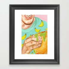 Mystery Meat Framed Art Print