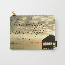 WORDS - TIKI SUNRISE Carry-All Pouch