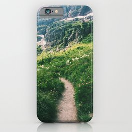 Grinnell Glacier Trail iPhone Case
