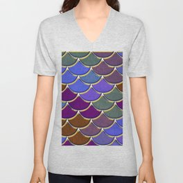 Dragon Scales Unisex V-Neck
