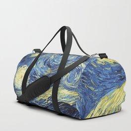 Van Gogh Starry Night Duffle Bag