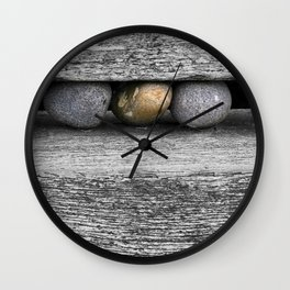 Cromer Pebbles Wall Clock