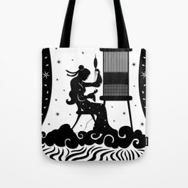 The Weaving Maiden Tote Bag