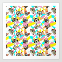 Army Of Cats Art Print