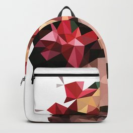 Frida in low poly Backpack