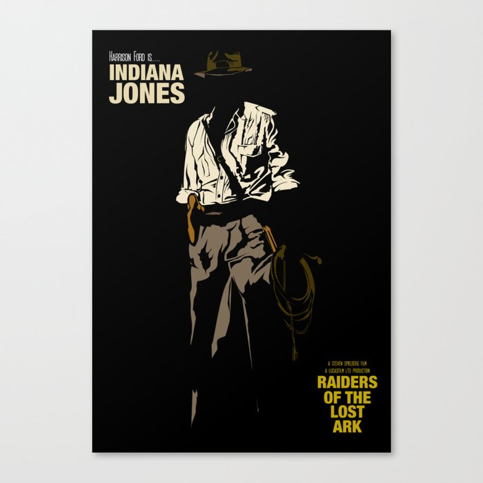 Indiana Jones: Raiders of the Lost Ark Canvas Print