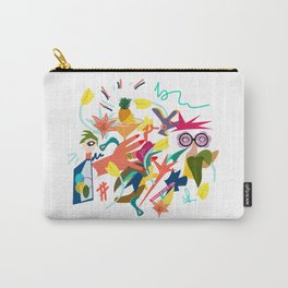 Illustration -between coffee and tea Carry-All Pouch
