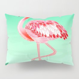 Tropical Flamingo Pillow Sham