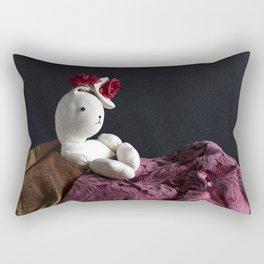 Bunny Muse Rectangular Pillow