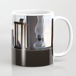 A Glimpse Back A Window Ledge Fort Stanton New Mexico Coffee Mug