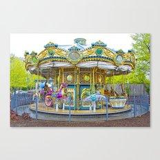 Carousel Ride in Pittsburgh Pennsylvania Canvas Print