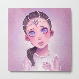 Childlike Empress Metal Print