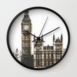 Vintage London 01 Wall Clock
