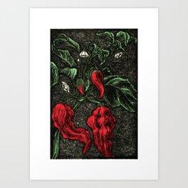 HOT PEPPER Art Print