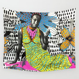 Miss Simone Wall Tapestry