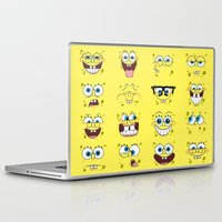spongebob Laptop & iPad Skins featuring Spongebob  by Lyre Aloise