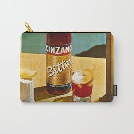 Vintage Bitter Cinzano Advertisement Poster Carry-All Pouch