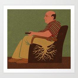 root man Art Print