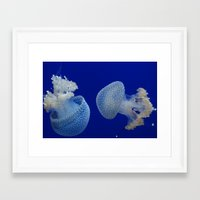 jelly fish Framed Art Prints featuring Jelly Fish by Eternal