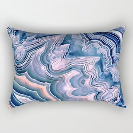Agate ornaments Rectangular Pillow