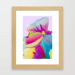 Leyla Framed Art Print