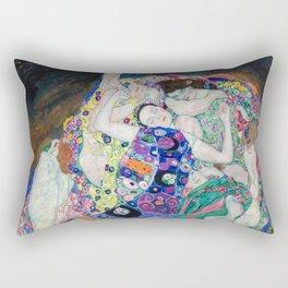 Gustav Klimt - The Virgin Rectangular Pillow