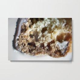 Salted caramel chocolate biscotti Metal Print