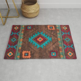 Bohemian Traditional Southwest Style Design Rug